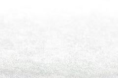 Fundo de prata do glitter Imagens de Stock