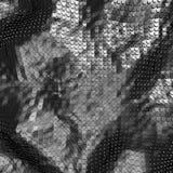 Fundo de prata lustroso abstrato de Alluminium ilustração stock
