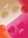 Fundo de quatro cores ilustração stock
