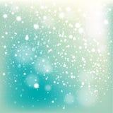 Fundo de queda da neve do inverno ilustração royalty free