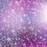 Fundo de queda da neve Teste padrão abstrato do floco de neve Ilustração do vetor Fotos de Stock