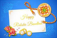 Fundo de Raksha Bandhan Fotos de Stock Royalty Free