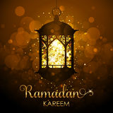 Fundo de Ramadan Kareem - cartão festivo Fotos de Stock Royalty Free