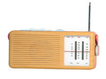 Fundo de rádio retro Foto de Stock