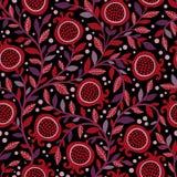 Fundo de repetição floral Textura natural da cópia Imagem de Stock