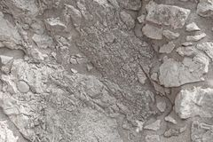 Fundo de rochas cinzentas Fundo de mármore cinzento Gray Stones idoso A ilha de Sicília, Itália imagens de stock royalty free