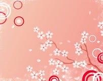 Fundo de Sakura ilustração stock