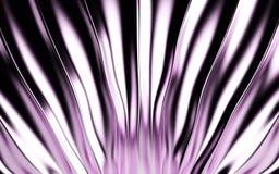 Fundo de seda cor-de-rosa da cortina e da tela 3d rendem Foto de Stock Royalty Free