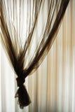 Fundo de seda da cortina Foto de Stock