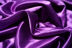 Fundo de seda roxo Imagem de Stock