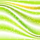 Fundo de seda verde Imagens de Stock Royalty Free