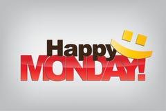 Fundo de segunda-feira Imagens de Stock Royalty Free