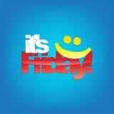 Fundo de sexta-feira. Foto de Stock Royalty Free
