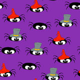 Fundo de Spiders_Seamless Imagens de Stock Royalty Free