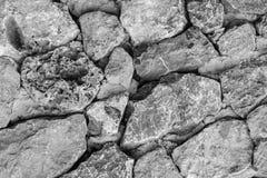 Fundo de superfície de pedra Textura da pedra Fotografia de Stock Royalty Free