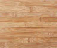 Fundo de superfície de madeira de bambu Pristine Fotos de Stock Royalty Free