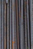 Fundo de Technogenic de barras da armadura do metal imagem de stock royalty free