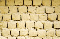 Fundo de tijolos da argila! Imagens de Stock Royalty Free