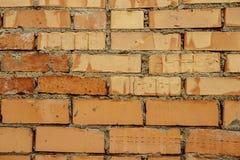 Fundo de tijolos vermelhos fotos de stock