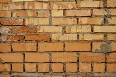 Fundo de tijolos vermelhos fotografia de stock