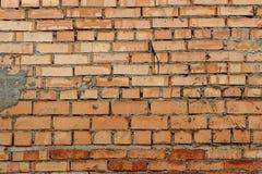 Fundo de tijolos vermelhos imagens de stock royalty free