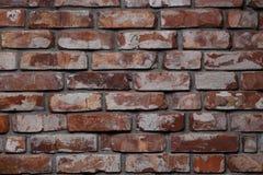 Fundo de tijolos vermelhos Fotografia de Stock Royalty Free
