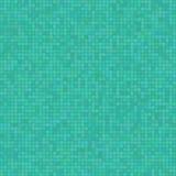 Fundo de turquesa com efeito do mosaico Fotos de Stock