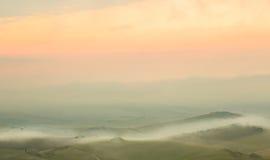 Fundo de Tuscan Foto de Stock Royalty Free