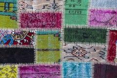 Fundo de um tapete vestido velho Imagens de Stock