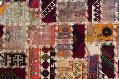 Fundo de um tapete vestido velho Imagem de Stock Royalty Free