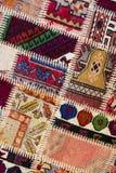 Fundo de um tapete vestido velho Imagens de Stock Royalty Free