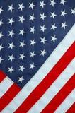 Fundo de uma bandeira americana Fotografia de Stock