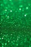 Fundo de Valentine Day Green Glitter do ano novo do Natal Tela abstrata da textura do feriado Elemento, flash imagem de stock royalty free