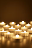 Fundo de velas ardentes com espaço da cópia Imagens de Stock