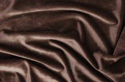 Fundo de veludo, textura, cor marrom, luxo caro, tela, fotografia de stock royalty free