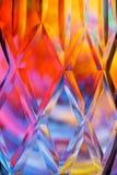 Fundo de vidro colorido do corte do sumário ilustração stock