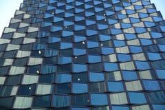 Fundo de vidro da textura com luz suave Imagens de Stock