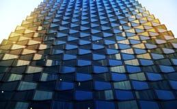 Fundo de vidro da textura com luz suave Imagens de Stock Royalty Free