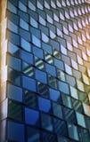 Fundo de vidro da textura com luz suave Fotografia de Stock Royalty Free