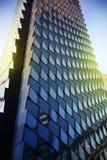 Fundo de vidro da textura com luz suave Foto de Stock Royalty Free