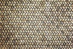 Fundo de vime velho da textura do trabalho Fotografia de Stock Royalty Free