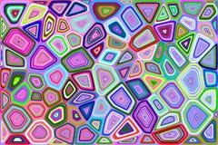 Fundo de Voronoi Imagem de Stock
