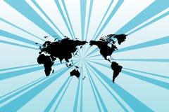 Fundo de Worldmap Foto de Stock Royalty Free