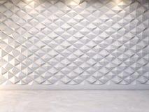Fundo decorativo abstrato da parede 3d, rendição 3d Foto de Stock