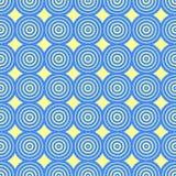 Fundo decorativo abstrato dos círculos Fotografia de Stock