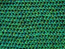 Fundo decorativo de tecelagem crochet fotos de stock