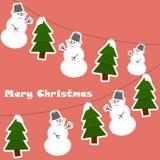 Fundo decorativo do Natal Fotos de Stock Royalty Free