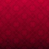 Fundo decorativo vermelho sem emenda Imagens de Stock