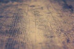 Fundo defocused de madeira Fotos de Stock Royalty Free