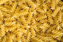 Fundo delicioso do alimento da massa amarela Fotos de Stock Royalty Free